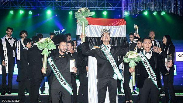 مصري يفوز بمسابقة ملك جمال العالم لعام 2017