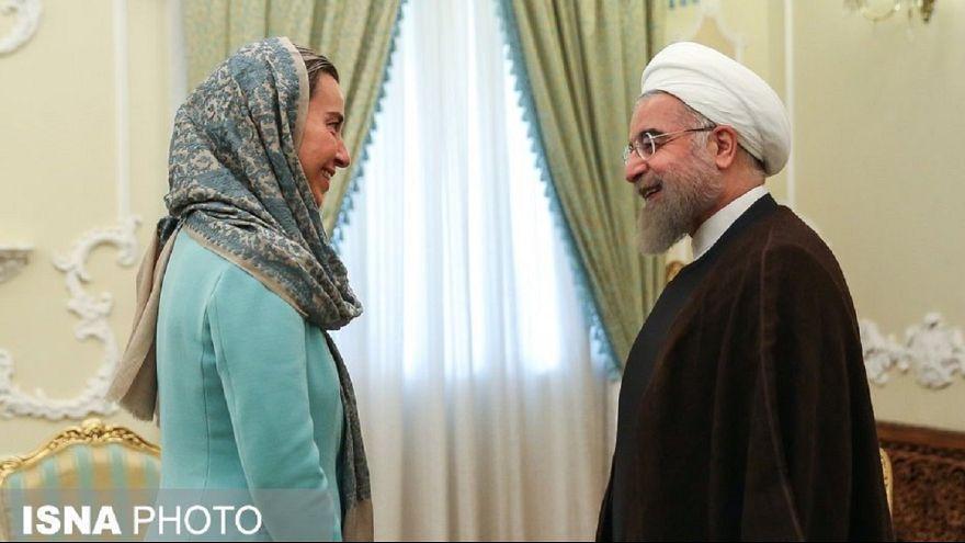 موگرینی برای شرکت در مراسم تحلیف روحانی به تهران میرود