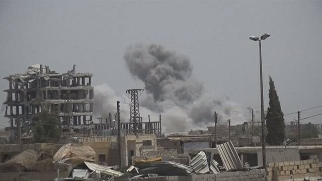 Big operation against ISIL in Raqqa