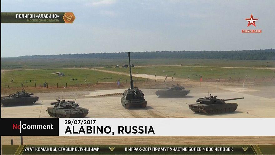 القوات الروسية تنظم الألعاب العسكرية الدولية الثالثة