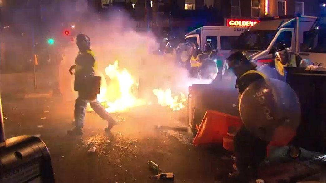 Family of Rashan Charles urge calm on London streets