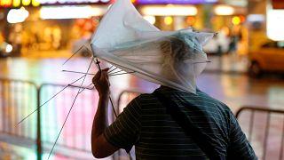 Taiwan:è arrivato il tifone Nesat