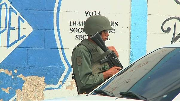 Tight security for disputed ballot in Venezuela