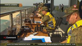 22 countries play army 'games' in Russia