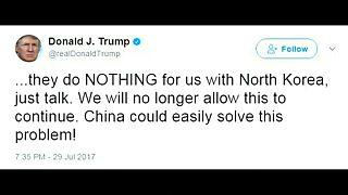 Трамп обвинил Китай в бездействии