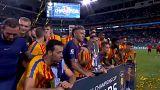 Barcelona vence 'clássico' de pré-temporada
