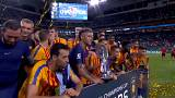 El Clasico'nun galibi Barcelona