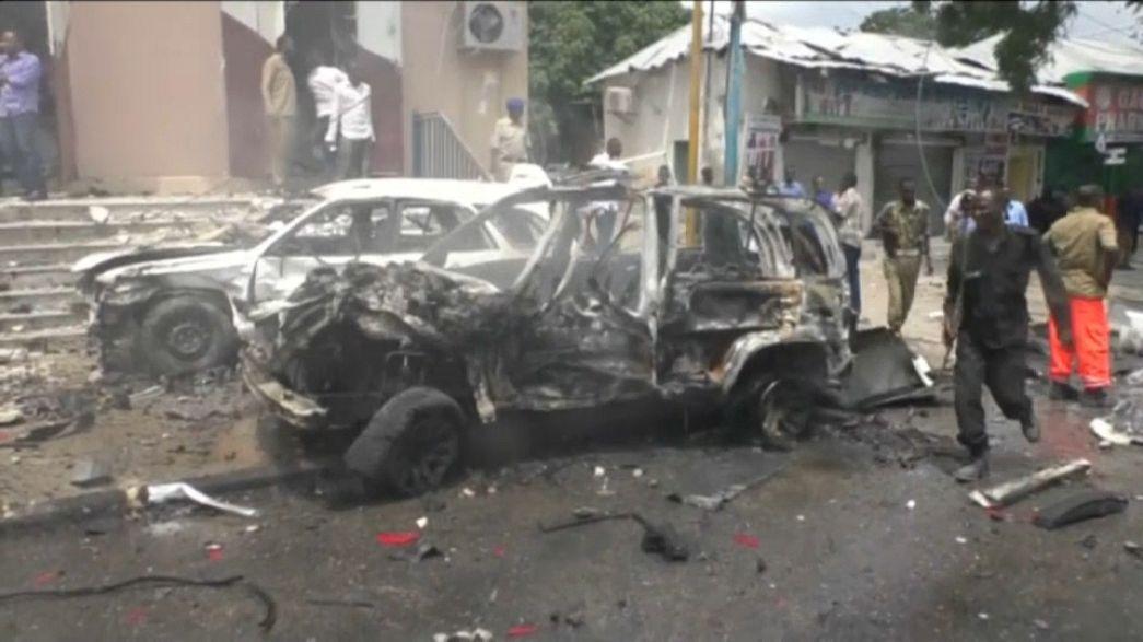 Взрыв в столице Сомали, есть погибшие