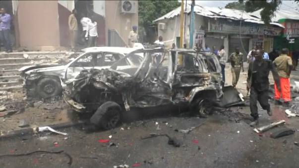6 people dead after car bomb attack in Somalia's capital, Mogadishu