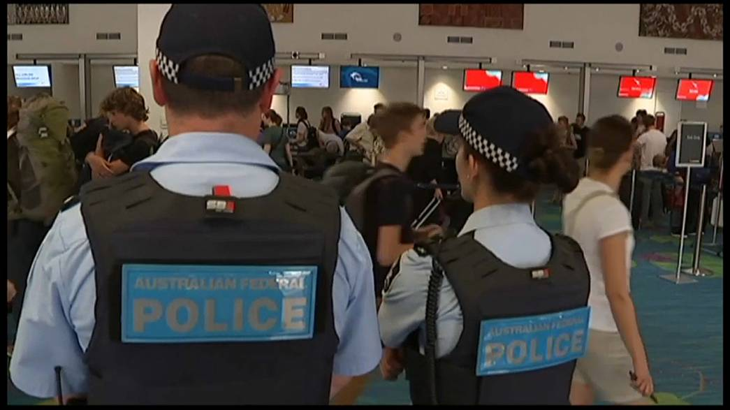 Rendkívüli reptéri készültség Ausztráliában