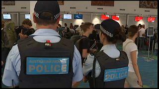 Avustralya'da havalimanlarında güvenlik önlemleri arttırıldı