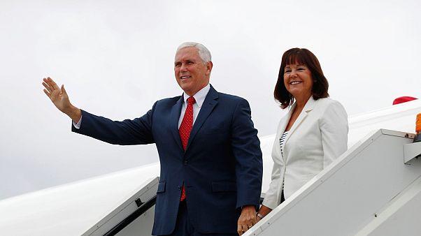 Mike Pence entame une tournée en Europe orientale