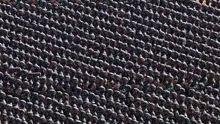 Riesige Militärparade in China