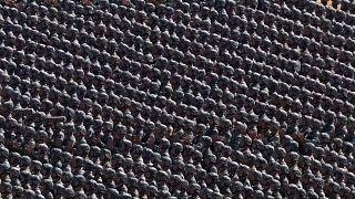 Riesige Militärparade in China