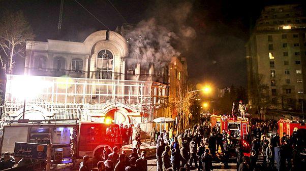 تایید احکام مهاجمان به سفارت عربستان در دادگاه تجدیدنظر