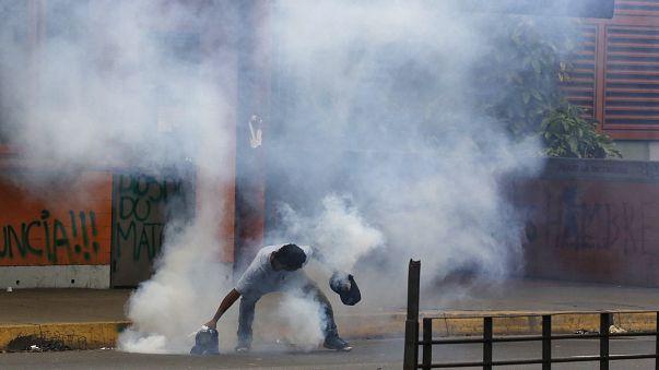 Venezuela'da Kurucu Meclis Seçimi şiddetin gölgesinde yapıldı