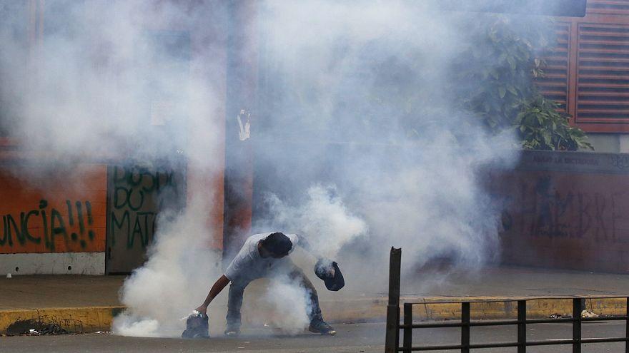 Gewalt und Tote bei Wahlen in Venezuela