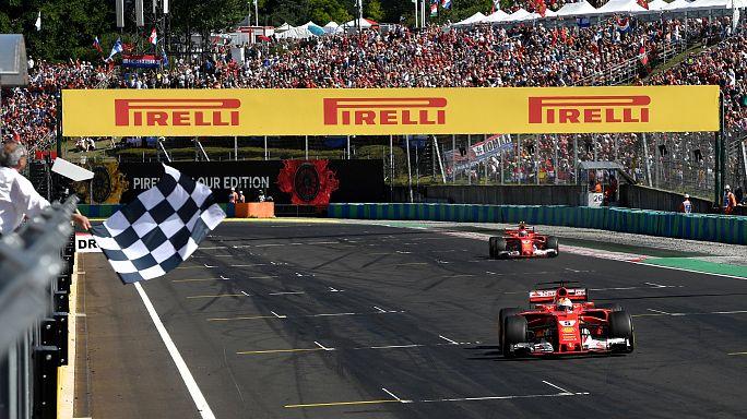 Sebastian Vettel vence na Hungria