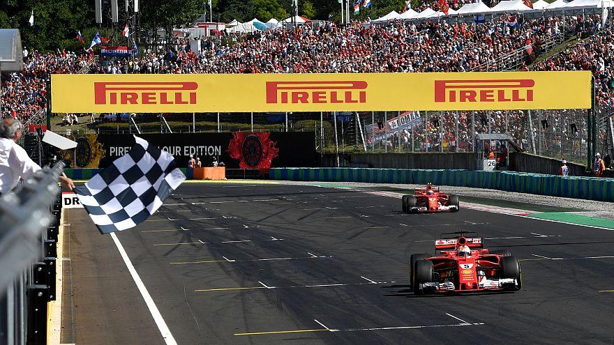 Себастьян Феттель выиграл Гран-при Венгрии
