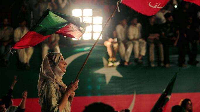 Massive opposition rally held in Pakistan after PM's resignation