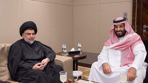 مقتدی صدر با ولیعهد عربستان دیدار کرد