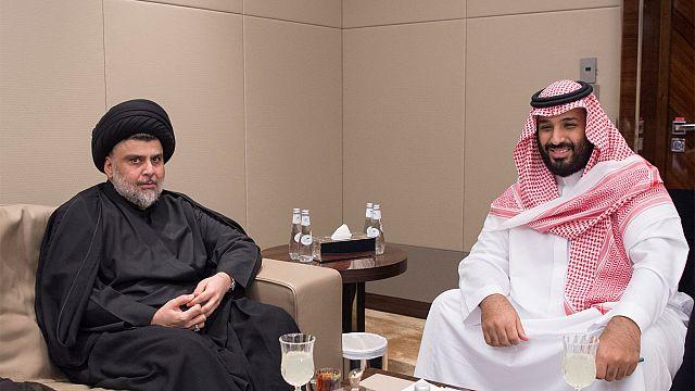 مقتدى الصدر يزور السعودية ويلتقي ولي العهد في الرياض