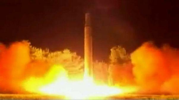 Trump und Abe: Gemeinsam gegen Kim Jong-Un und seine Raketentests