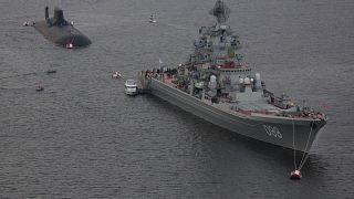 A força da marinha russa