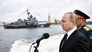 Ο Πούτιν και  η «Ημέρα του Ναυτικού» - ΒΙΝΤΕΟ