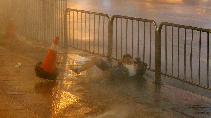 """Taifun """"Haiteng"""" fegt über Taiwan"""