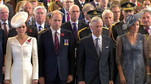 War dead remembered at ceremony to mark centenary of Battle of Passchendaele