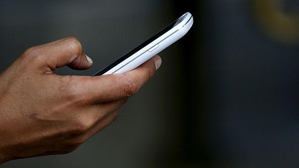 Aufs Smartphone schauen verboten!