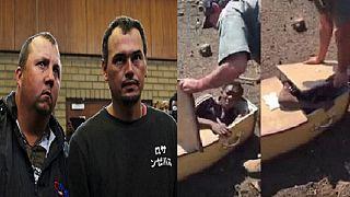 AfSud : les deux Blancs qui avaient tenté d'enfermer un Noir dans un cercueil plaident non coupables