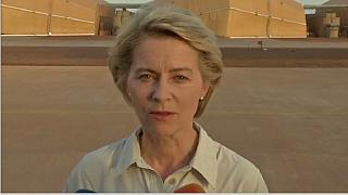 German defence minister visits Mali