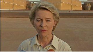 German defence minister visits Mali