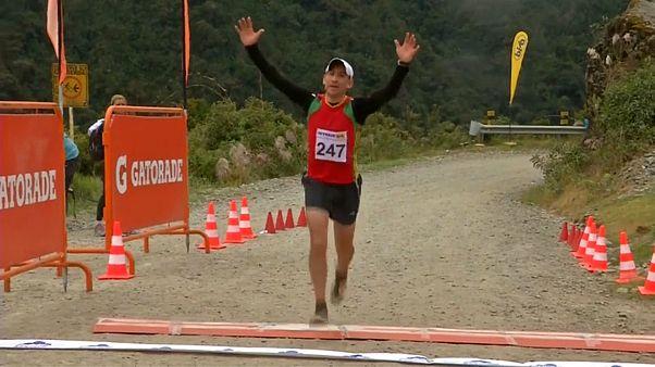 Extrem-Marathon in Bolivien