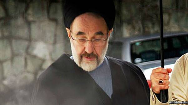 پخش تصویر محمد خاتمی از سیمای جمهوری اسلامی ایران