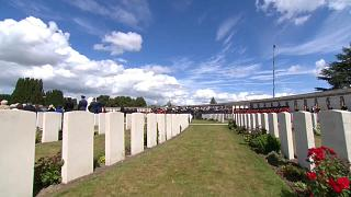 WW1 battle victims remembered a centenary on