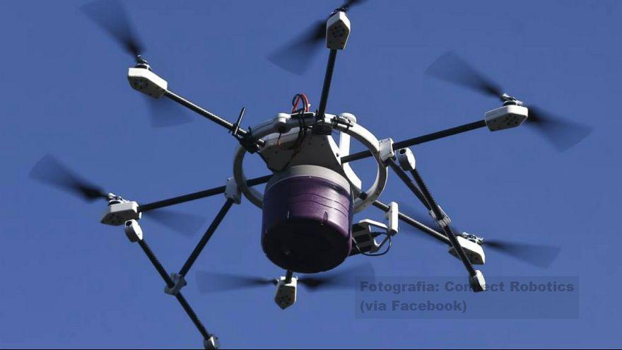 Portogallo: in via di sviluppo il drone salvavita che fa le consegne a domicilio