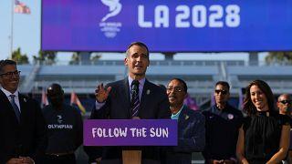 Olympia 2028 in Los Angeles - 2024 in Paris