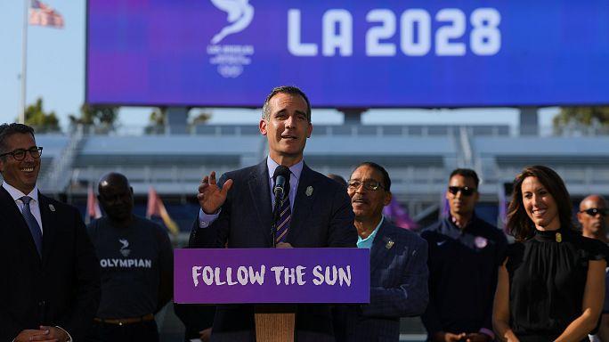 Los Ángeles 2028 y París 2024
