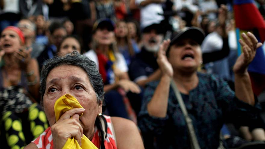 Estados Unidos sancionam Maduro por Constituinte