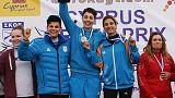 Χάλκινο μετάλλιο για την εθνική ομάδα σκητ γυναικών της Κύπρου στους Πανευρωπαϊκούς