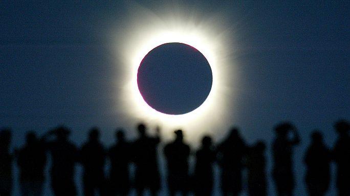 #Eclipse2017: Amerikalılar 21 Ağustos'u heyecanla bekliyor