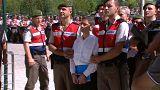 Ötszázan bíróság előtt Ankarában