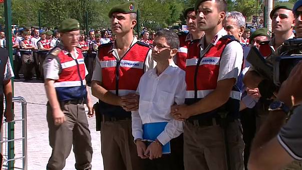 Almost 500 suspected Turkish coup plotters on trial