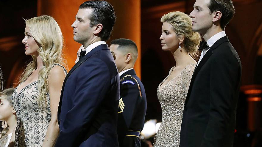 Image: President Donald Trump Attends A Salute To Our Armed Services Ball