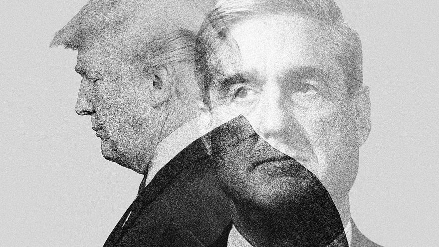 Photo illustration of Donald Trump and Robert Mueller.