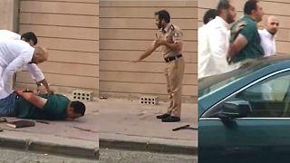 إلقاء القبض على مصري قتل زوجته أمام طفليها بالكويت