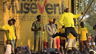 Uganda's Museveni says he's never been sick in last 31 years
